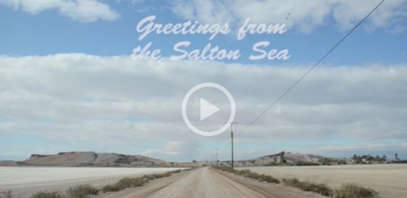 Greeting from the Salton Sea
